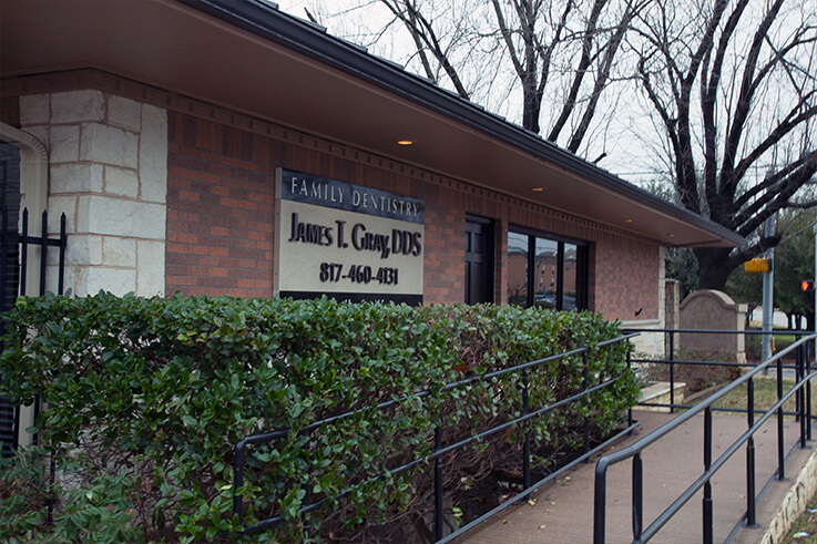 Thumbnail of outside view James T. Gray, DDS dental office in Arlington