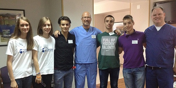 Patients on mission trip